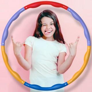 어린이훌라후프(원더패밀리) 유아 초등학생 키즈 운동
