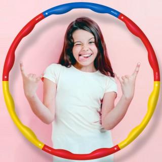 어린이훌라후프(언맨패밀리) 유아 초등학생 키즈 운동
