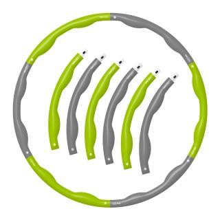 비핏 앱 폼 훌라후프 중급용(1.5kg) 뱃살 지압효과 다이어트 후프