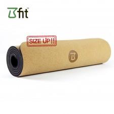 비핏 코르크 TPE 와이드요가매트 (8mm블랙) 요가매트, 필라테스매트
